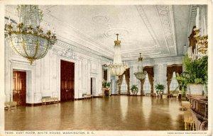 DC - Washington. The White House, East Room