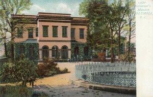 COLUMBIA, South Carolina, 1901-07; Governor's Mansion