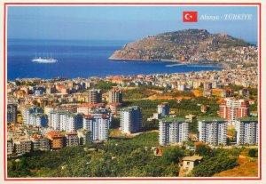 Postkarte Turkey Alanya castle view from Cikcilli town