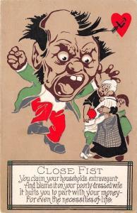 Close Fist~Cheap Man Rants~Won't Part With Money~Blame~Valentine Comic Series 1