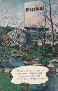 New York World's Fair 1939 Firestone Factory Exposition Building and Farm