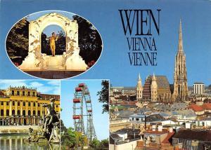 Wien Vienna, Johann Strauss Denkmal Stephansdom Schloss Schoenbrunn Riesenrad
