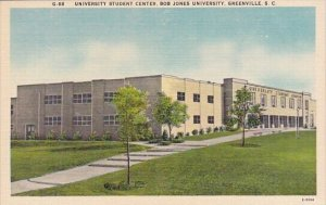 University Student Center Bob Jones University Greenville South Carolina