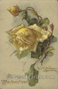 Artist Signed Catherine Klein Postcard Postcards  Artist Catherine Klein Post...