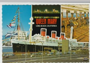 Shipping; RMS Queen Mary Multiview, Official Advertising PPC, c 1970's, Unused