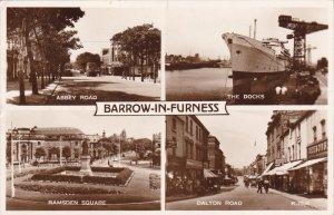 RP: ALDEBURGH , England , PU-1955 ; 4-view postcard
