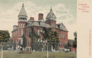 WINDSOR, Ontario, Canada, 1900-10s; Collegiate Institute