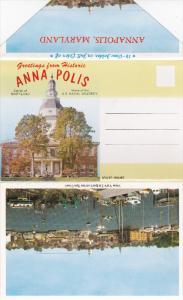 Folder Postcard : ANNAPOLIS , Maryland , 50-60s