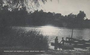 Oklahoma Hugo Moonlight On Roebuck Lake