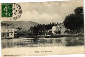 CPA Toul-La Gare du Canal (187705)