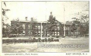 Ashland School in East Orange, New Jersey