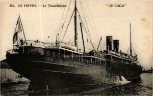 CPA AK Le Havre- Le Transatlantique 'Chicago' SHIPS (762682)