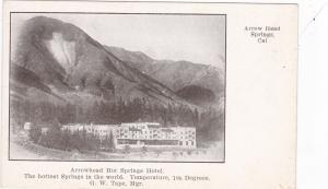ARROWHEAD SPRINGS, California, 1900-10s;  Arrowhead Hot Springs Hotel