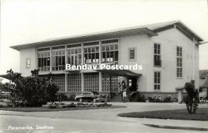 suriname, PARAMARIBO, Stadhuis, Town Hall (1964) RPPC