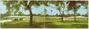 Long Beach Mississippi Holiday Shores Motor Hotel Bi-Fold Postcard JD228151