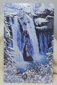 Burney Falls California Vintage Postcard