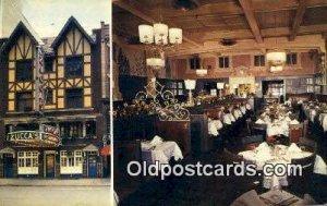 Zucca's Restaurant, New York City, NYC Postcard Post Card USA Old Vintag...