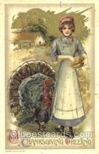 Samuel Schmucker Thanksgiving Postcard Postcards