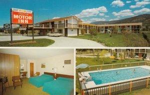 PENTICTON , B.C. , Canada , 1950-60s ; Telstar Motor Inn