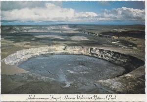 Halemaumau Firepit, Hawaii Volcanoes National Park, unused Postcard