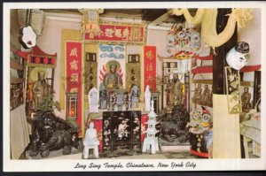 NEW YORK CITY Ling Sing Temple The Temple of Buddha heart of Chinatown - Chrome