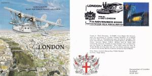 Saro London Aircraft Historic Flight Plane First Day Cover