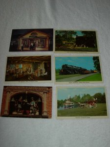 Dearborn MI - Lot Of 6 Great Vintage Postcards - x0509