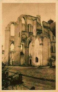 France Abbaye de Saint Wandrille Ruines de l'Eglise Abbatiale Church Postcard