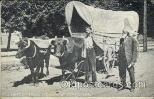 Ezra Meeker, Oregon Trail Famous People Unused light crease top left corner, ...