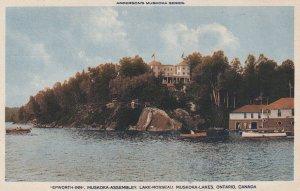MUSKOKA, Ontario, Canada, 1900-1910's; Epworth Inn, Lake Rosseau