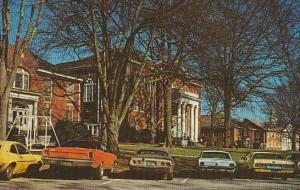 Anderson College Showing Part Of Campus Anderson South Carolina