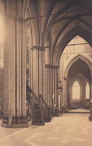 Belgium Bruges Eglise Saint Sauveur Nef laterale Sud