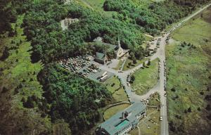 Shrine of the Sacred Heart, Aerial View, SHERBROOKE, Quebec, Canada, 40-60´