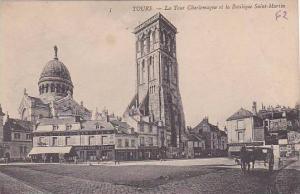 France Lyon La Tour Charlemagne et la Basilique Saint Martin
