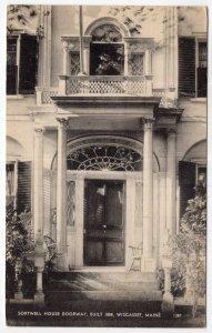 Wiscasset, Maine, Sortwell House Doorway, Built 1808