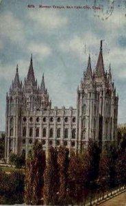 Morman Temple - Salt Lake City, Utah