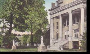 Kentucky Nazareth Nazareth College & Academy Administration Building Handcolo...