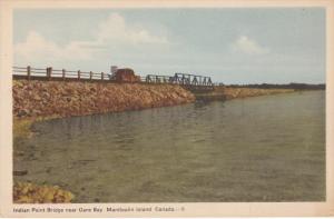 Indian Point Bridge , Gore Bay , Manitoulin Island , Ontario , Canada , 30-40s