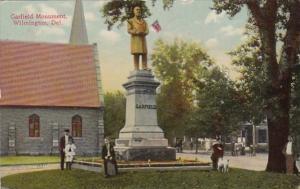 Delaware Wilmington Garfield Monument 1910