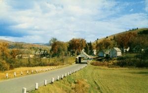 VT - Lyndon. South Wheelock Road Covered Bridge