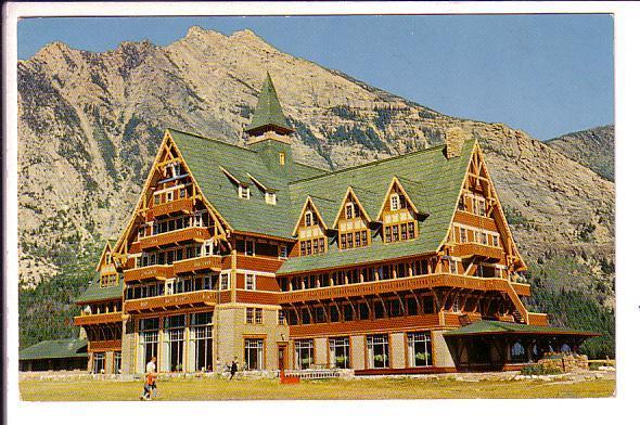 Prince of Wales Hotel, Lakes National Park, Waterton, Alberta,