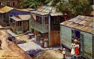 Puerto Rico - Cayey, Village Scene (Tuck Series 2504- Porto Rico)