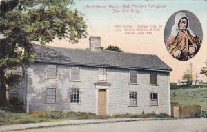 Massachusetts Marblehead Moll Pitchers Birthplace The Old Brig 1910