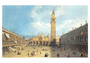 Piazza S Marco - Canaletto
