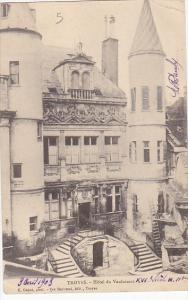 France Troyes Hotel du Vauluisant 1903
