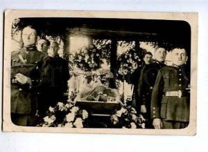 184038 FINLAND FUNERAL military Vintage photo