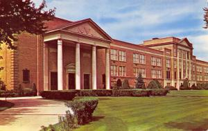 Nashua NH Beaux Arts High School w/Pillars & Columns 1950s