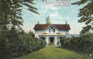 BRANTFORD, Ontario, PU-1910; Bell Homestead, Birthplace of the Telephone, ver. 2