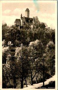 Bamberg Germany Altenburg Castle Postcard Used (33482)