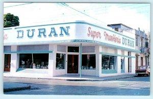 PONCE, PUERTO RICO  Advertising SUPER MUEBLERIA DURAN Appliance Store Postcard